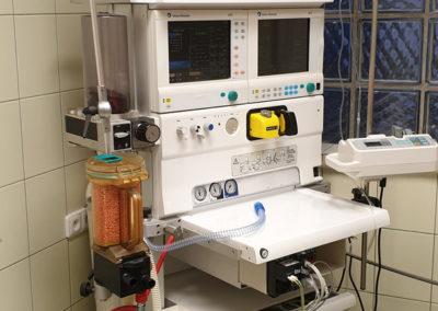 inhalační anesteziologický přístroj Datex Ohmeda